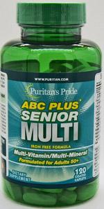 abc plus multi vitamins 120 count
